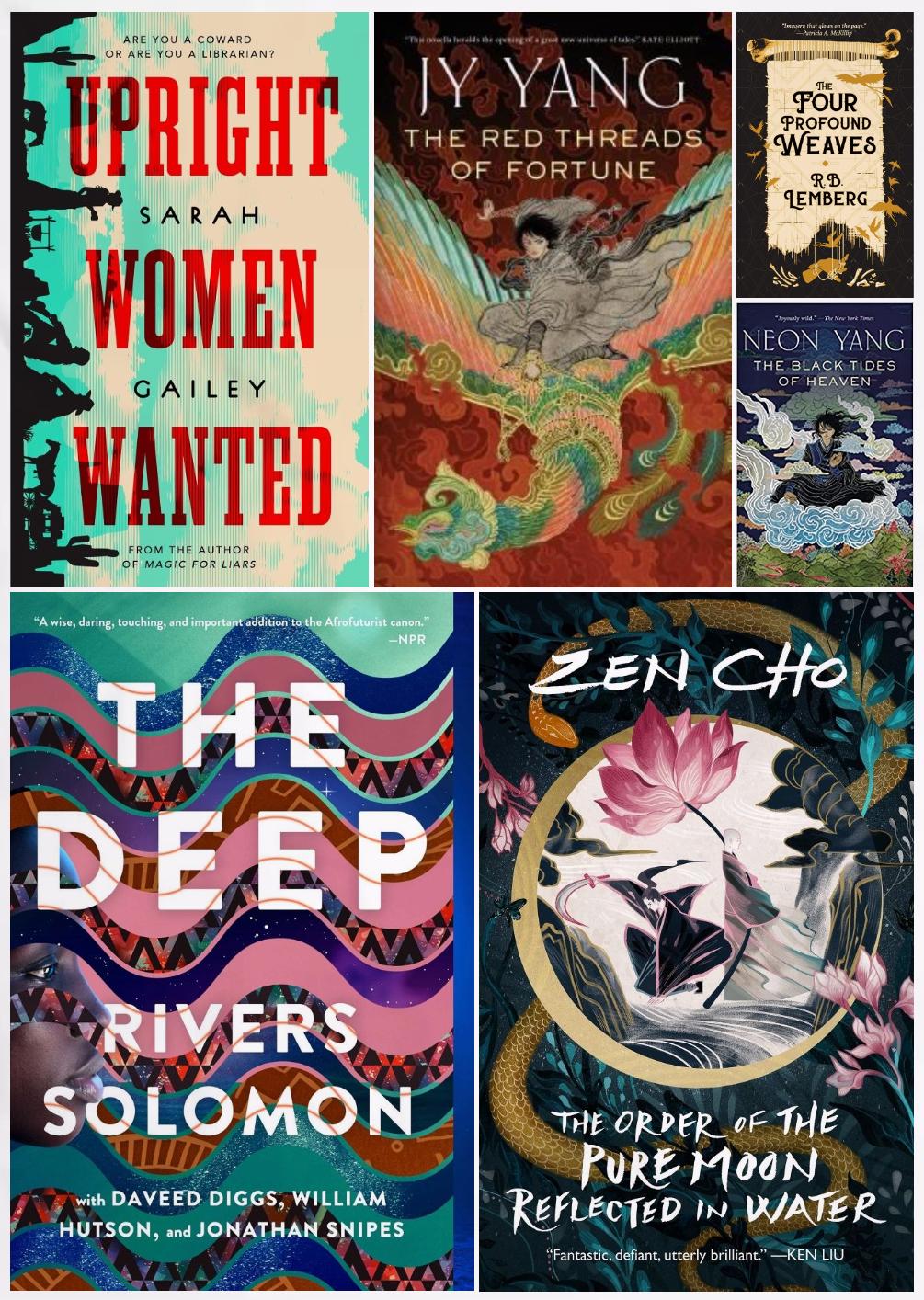 LGBTQ+ Fantasy Book Recommendations