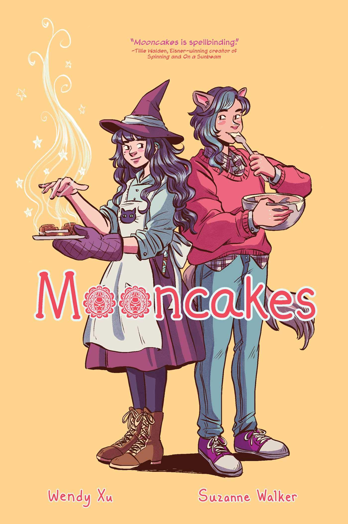 Mooncakes by Suzanne Walker, illustrated by Wendy Xu