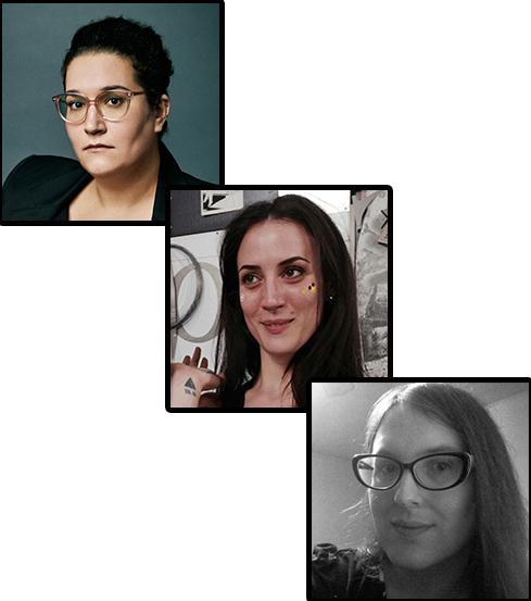 Carmen Maria Machado, DaNi, Tamra Bonvillain