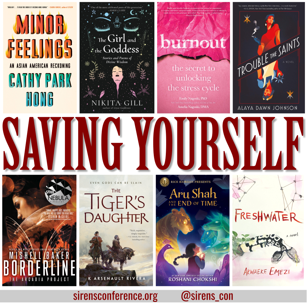 Sirens conference speculative fiction book recommendations